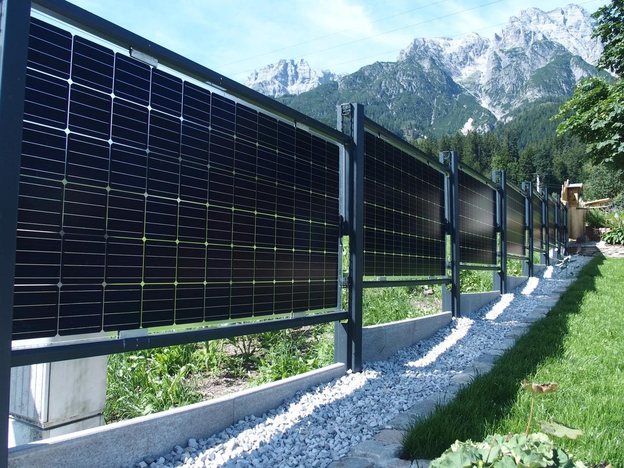 Solarzaun - Elektrotechnik Leitinger