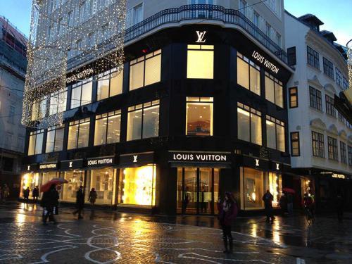 Louis Vuitton, Wien-Tuchlauben