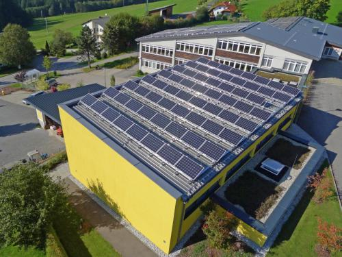 Photovoltaik EE Sonnenenergie St. Johann, Schule - 72 kWp (2)